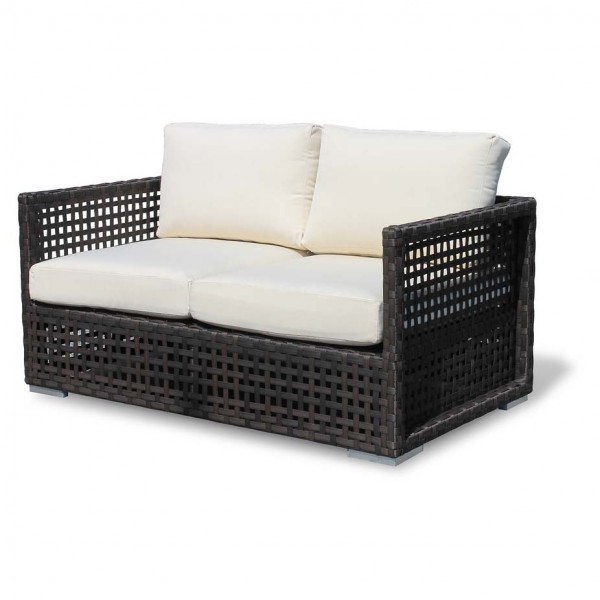 Source Outdoor Matterhorn Wicker Loveseat