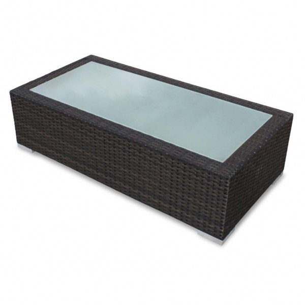 Source Outdoor Lucaya Wicker Coffee Table