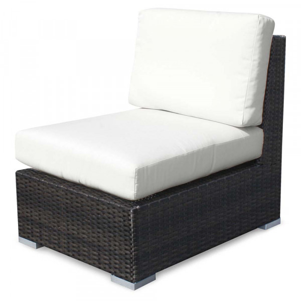Source Outdoor Lucaya Armless Wicker Lounge Chair