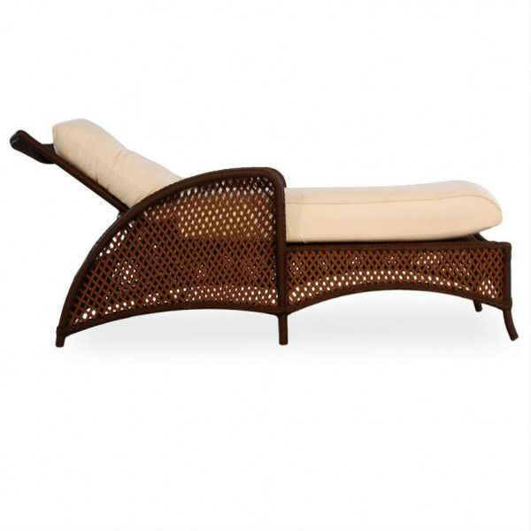 Lloyd Flanders Grand Traverse Adjustable Wicker Chaise Lounge