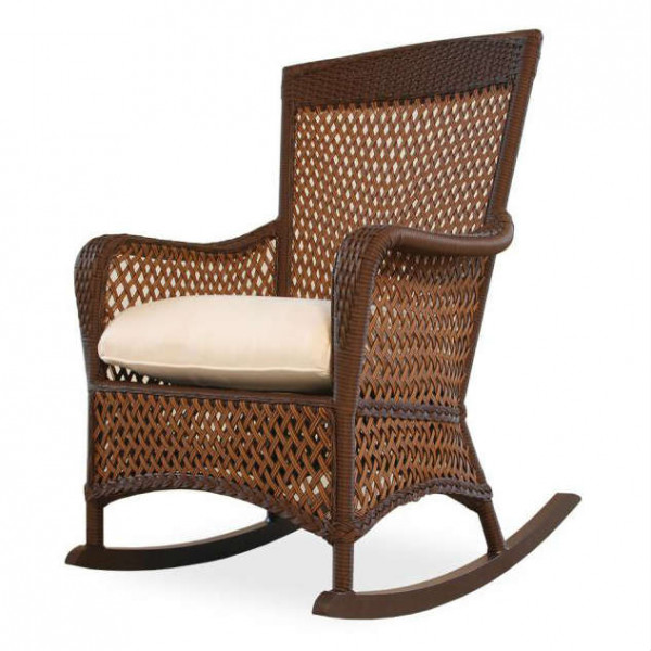 Lloyd Flanders Grand Traverse Wicker Porch Rocker - Replacement Cushion