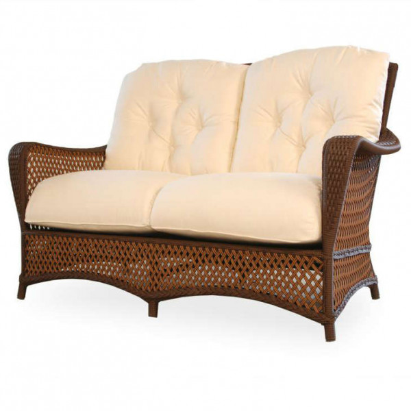 Lloyd Flanders Grand Traverse Wicker Loveseat