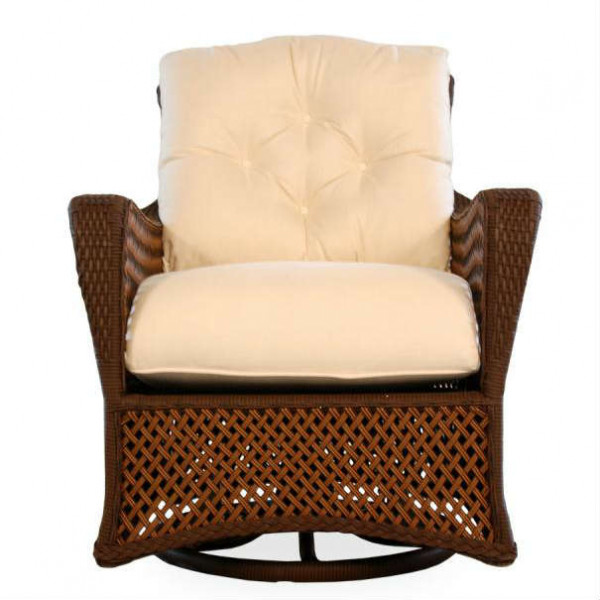 Lloyd Flanders Grand Traverse Wicker Swivel Glider