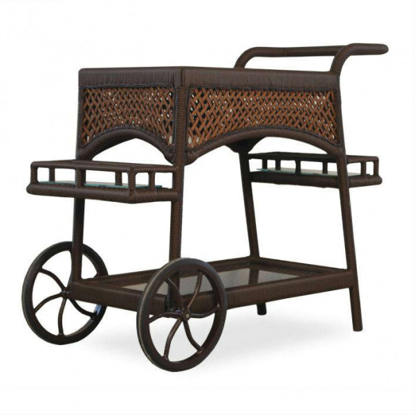 Lloyd Flanders Grand Traverse Wicker Serving Cart