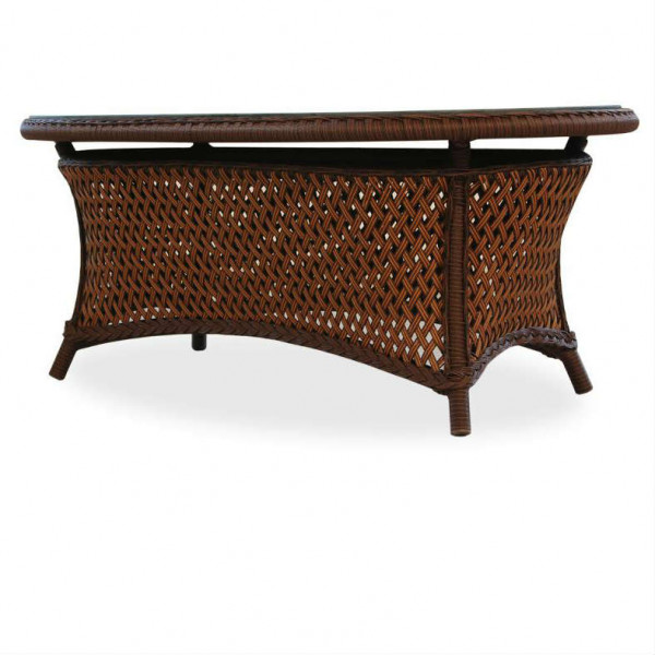 Lloyd Flanders Grand Traverse Wicker Cocktail Table
