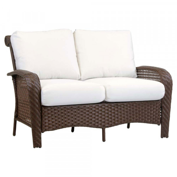 South Sea Rattan Martinique Wicker Loveseat