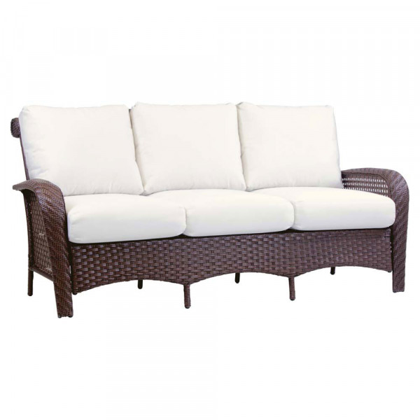 South Sea Rattan Martinique Wicker Sofa