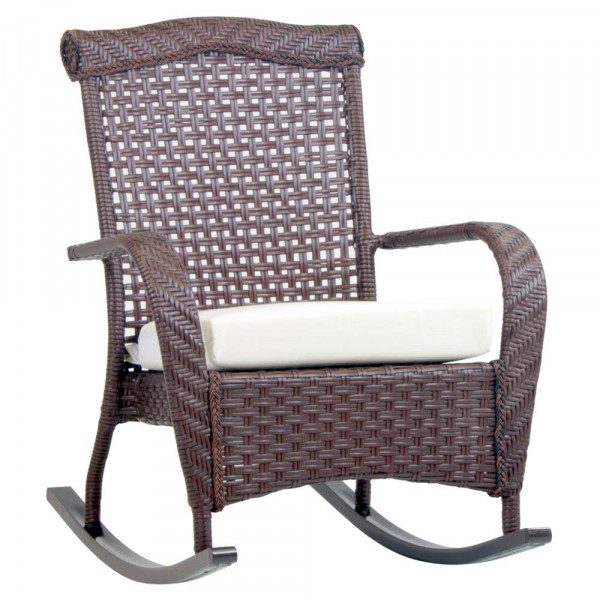 South Sea Rattan Martinique Wicker Rocking Chair
