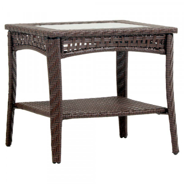 South Sea Rattan Martinique Wicker End Table