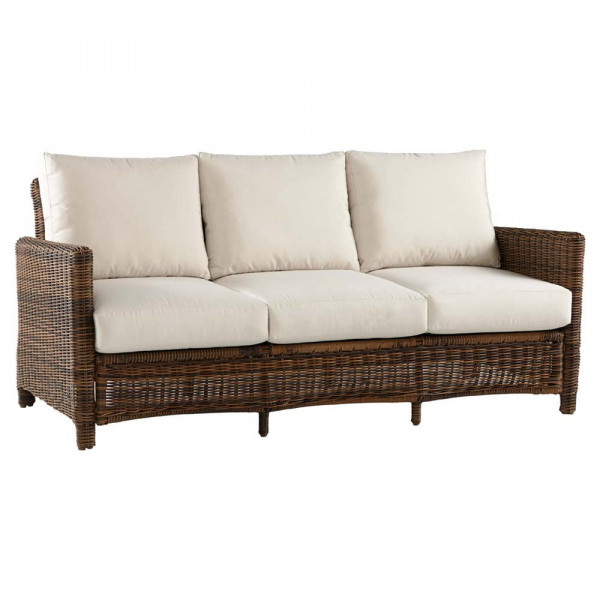 South Sea Rattan Del Ray Wicker Sofa