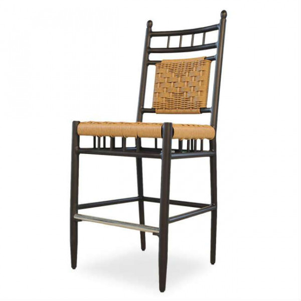 "Lloyd Flanders Low Country 26"" Wicker Counter Chair"