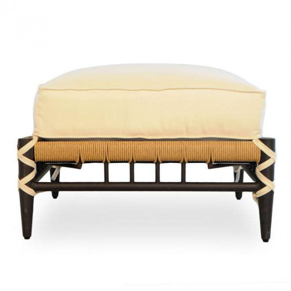Lloyd Flanders Low Country Wicker Ottoman
