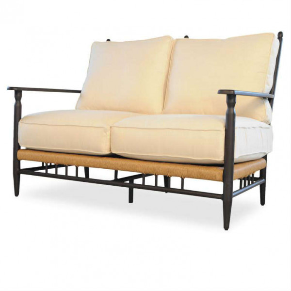Lloyd Flanders Low Country Wicker Loveseat