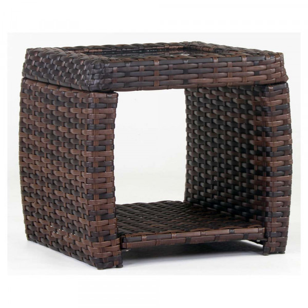 South Sea Rattan Huntington Wicker End Table