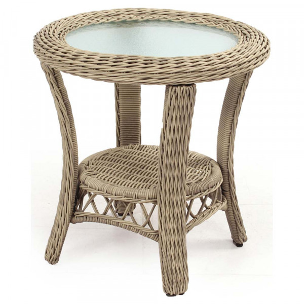 South Sea Rattan Arcadia Wicker End Table