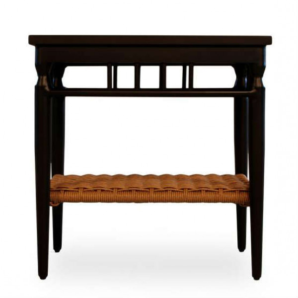 Lloyd Flanders Low Country Wicker End Table