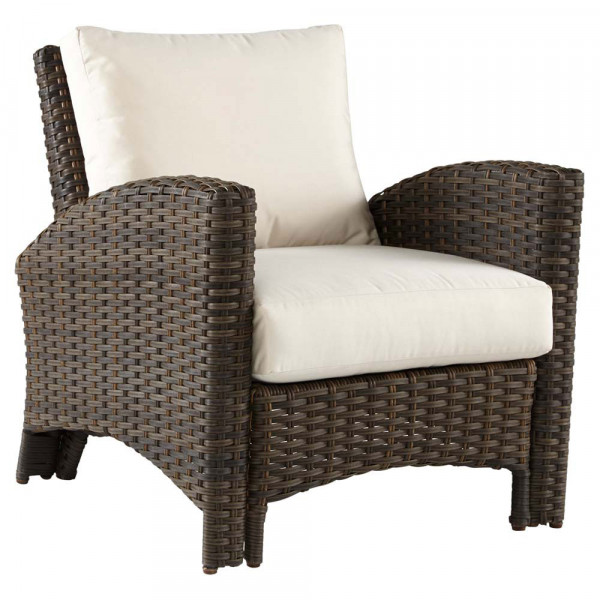 South Sea Rattan Panama Wicker Lounge Chair