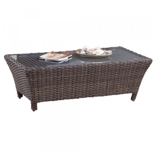 South Sea Rattan Panama Wicker Coffee Table