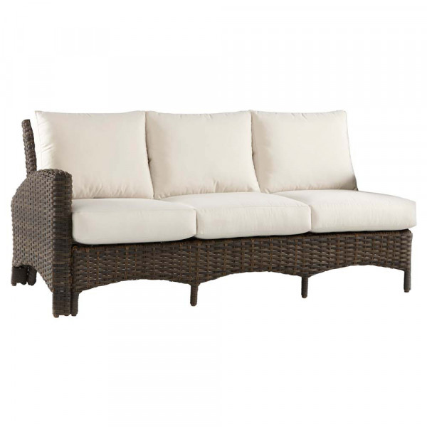South Sea Rattan Panama Left Arm Facing Sofa Sectional