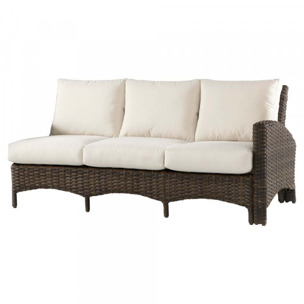 South Sea Rattan Panama Right Arm Facing Sofa Sectional
