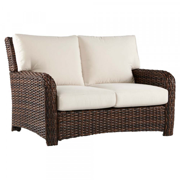 South Sea Rattan Saint Tropez Wicker Loveseat