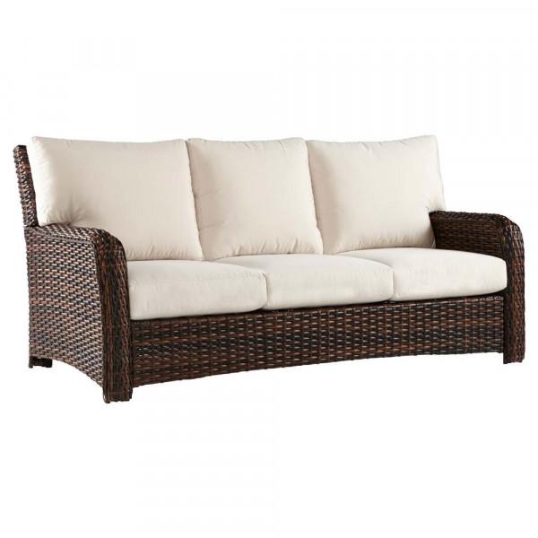 South Sea Rattan Saint Tropez Wicker Sofa
