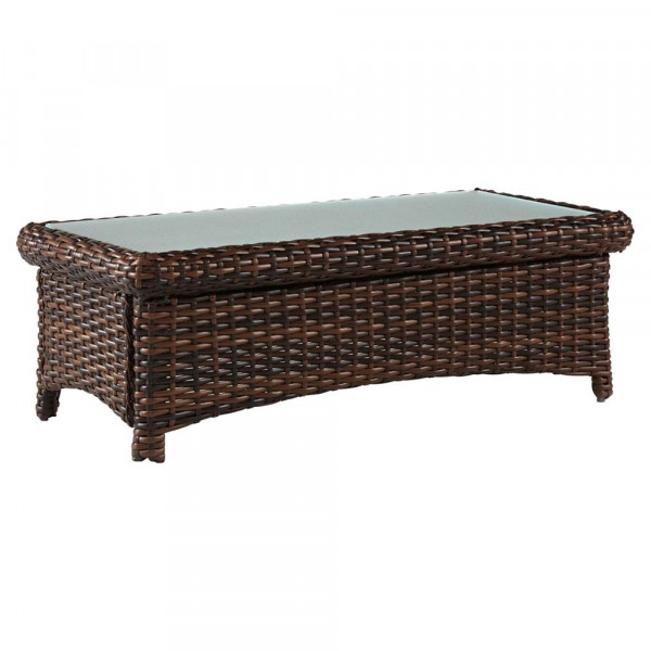 South Sea Rattan Saint Tropez Wicker Coffee Table