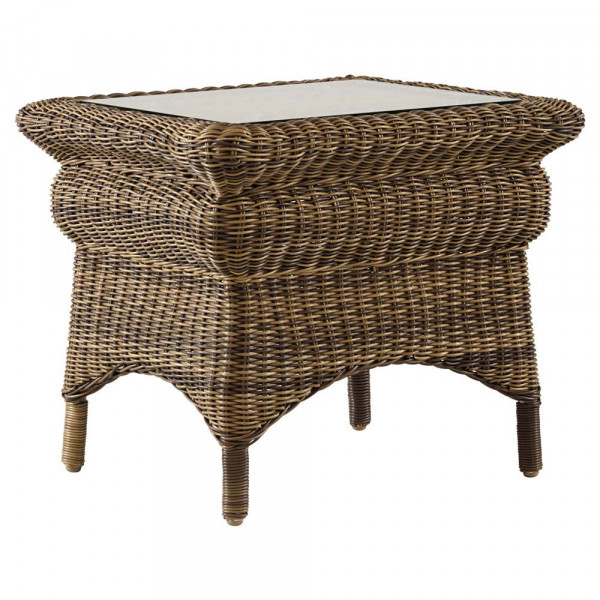 South Sea Rattan Provence Wicker End Table