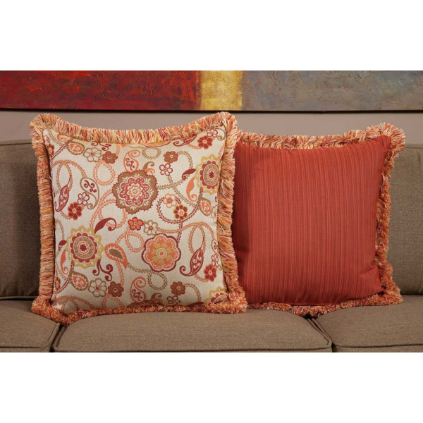 South Sea Rattan All Weather Fiesta Large Throw Pillow
