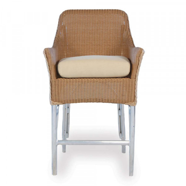 "Lloyd Flanders Wicker 25.75"" Bar Stool - Replacement Cushion"