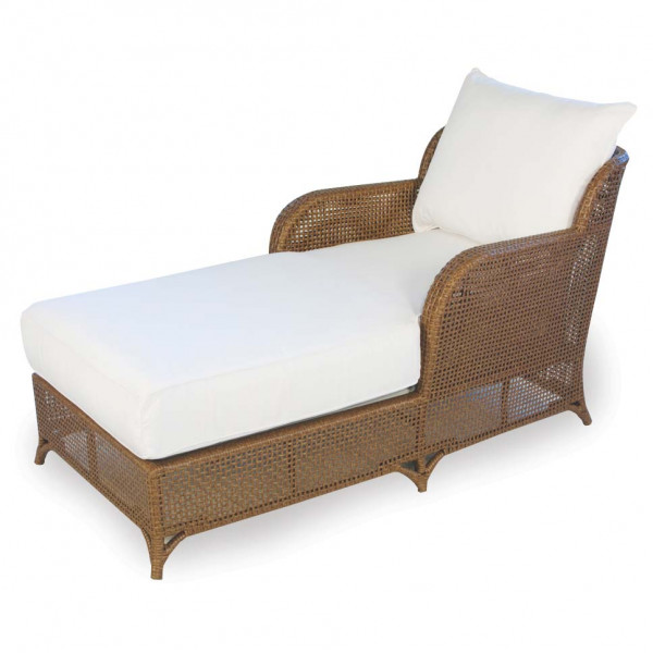 Lloyd Flanders Carmel Wicker Chaise - Replacement Cushion