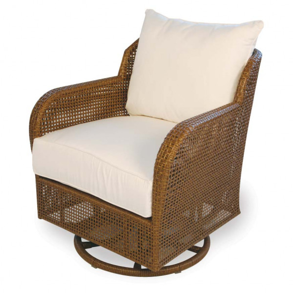Lloyd Flanders Carmel Wicker Lounge Swivel Glider - Replacement Cushion