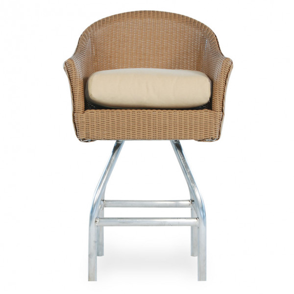 "Lloyd Flanders 28.5"" Wicker Bar Chair - Replacement Cushion"