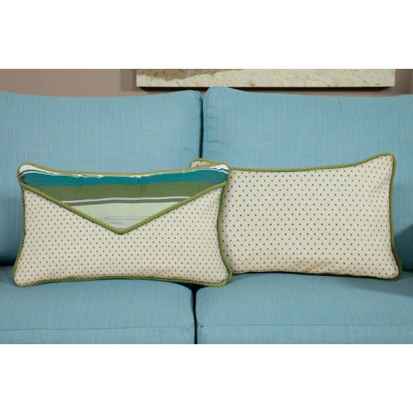 South Sea Rattan All Weather Baltic Small Throw Pillow