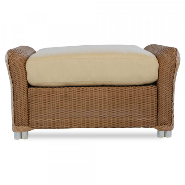 Lloyd Flanders Reflections Wicker Ottoman - SPECIAL OPPORTUNITY BUY