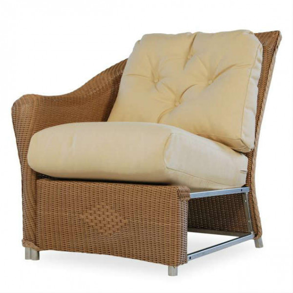 Lloyd Flanders Reflections Left Arm Facing Wicker Lounge Chair - Replacement Cushion