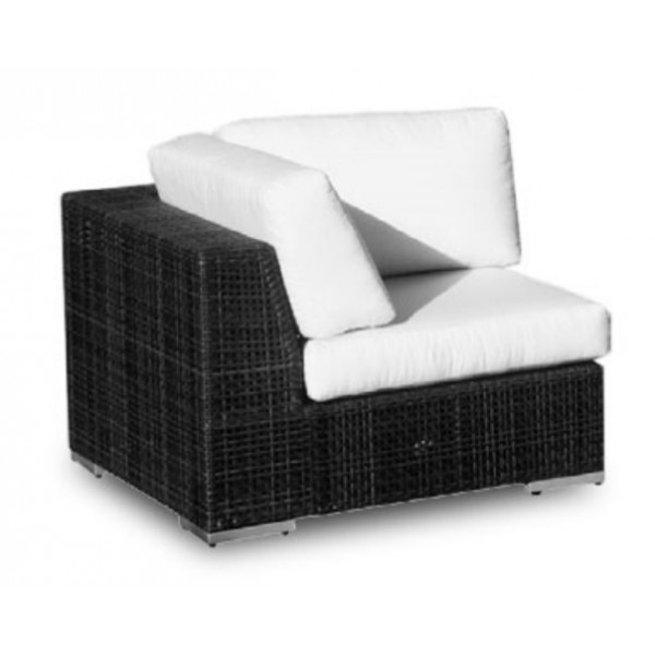 Hospitality Rattan Soho Wicker Corner Chair