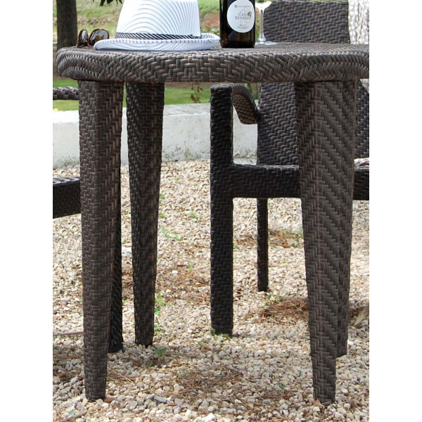 Hospitality Rattan Soho Wicker Bistro Table