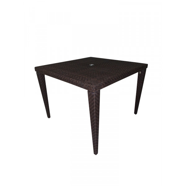 "Hospitality Rattan Soho Wicker 40"" Dining Table"
