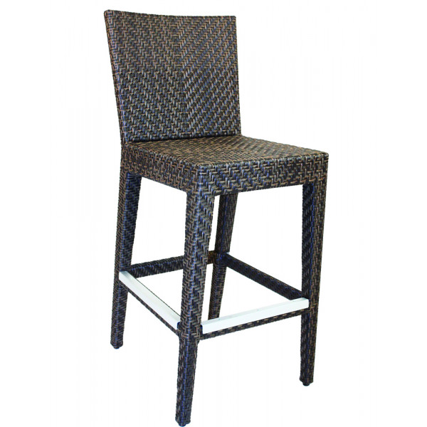 Hospitality Rattan Soho Wicker Bar Chair