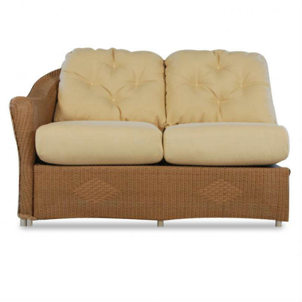 Lloyd Flanders Reflections Left Arm Facing Wicker Loveseat - Replacement Cushion