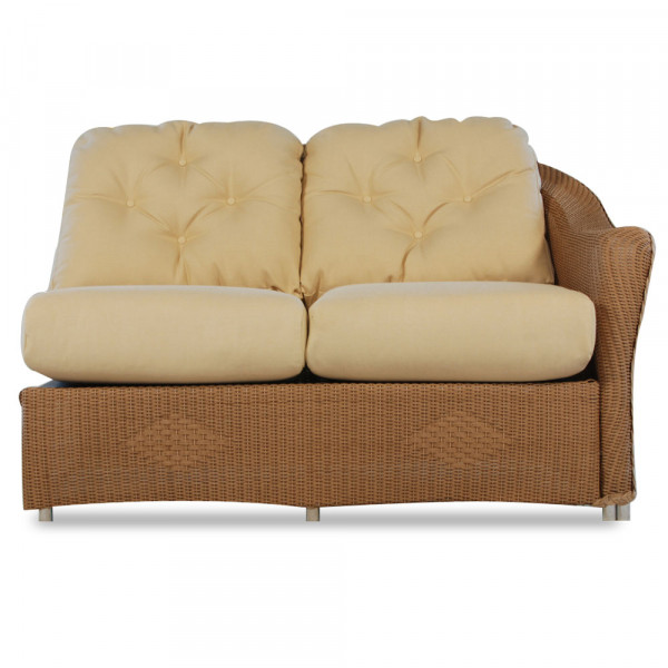 Lloyd Flanders Reflections Right Arm Facing Wicker Loveseat
