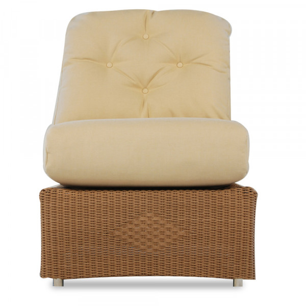 Lloyd Flanders Reflections Armless Wicker Lounge Chair - Replacement Cushion