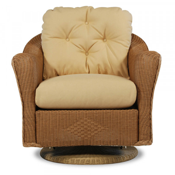Lloyd Flanders Reflections Wicker Swivel Glider