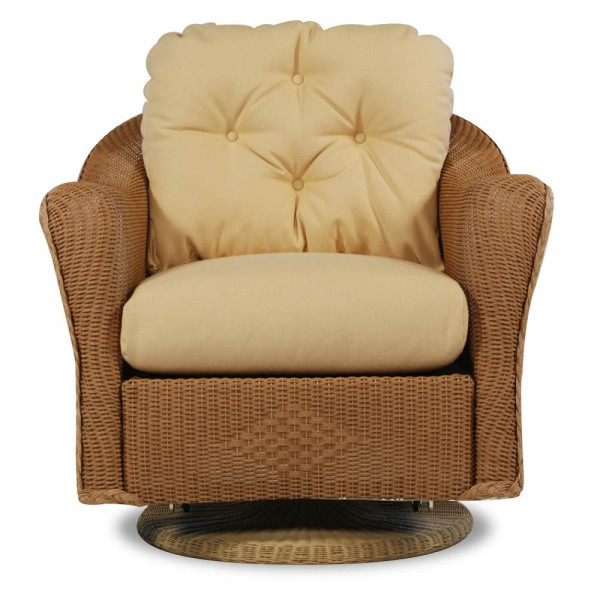 Lloyd Flanders Reflections Wicker Swivel Rocker - Replacement Cushion