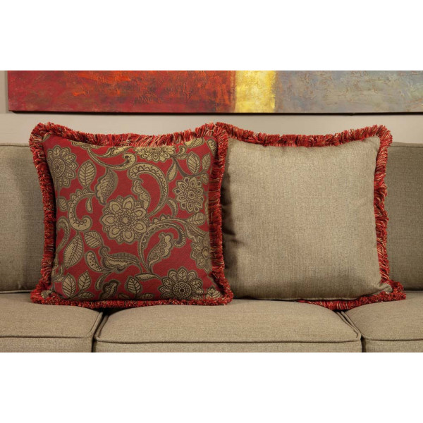 South Sea Rattan All Weather Dorsett Large Throw Pillow
