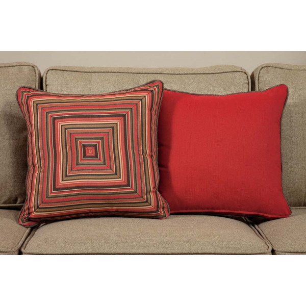 South Sea Rattan All Weather Dorsett Medium Throw Pillow