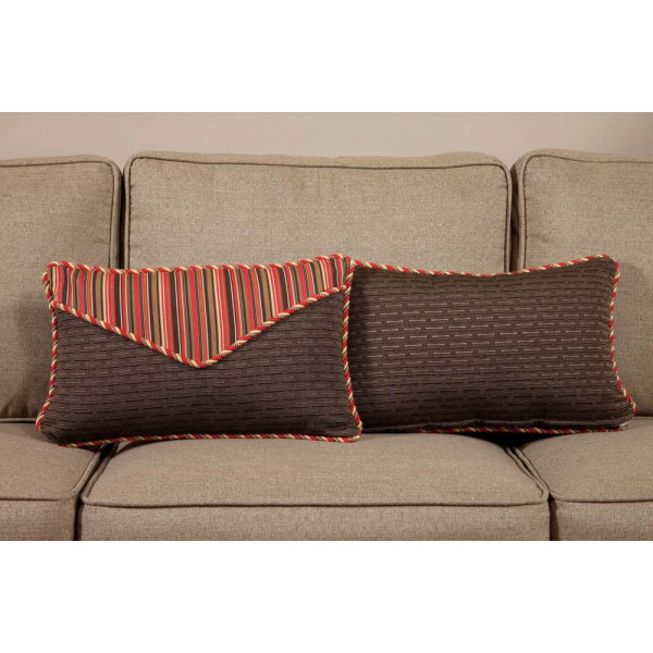 South Sea Rattan All Weather Dorsett Small Throw Pillow
