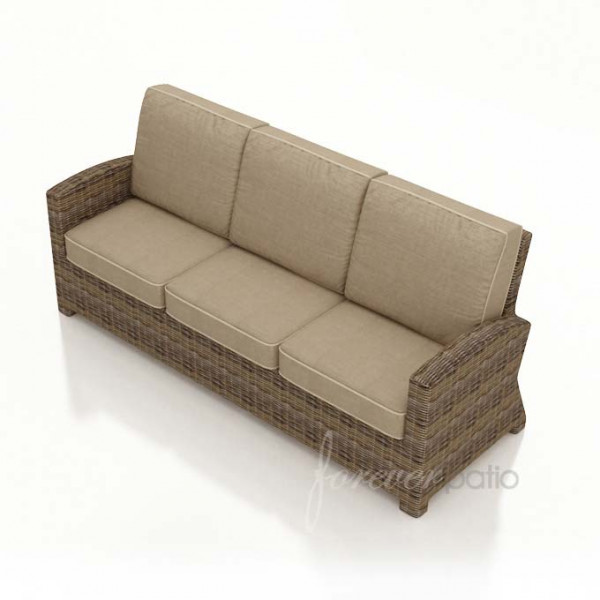 Forever Patio Cypress Wicker Sofa