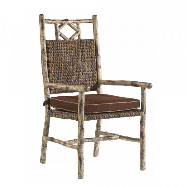 WhiteCraft by Woodard River Run Wicker Dining Chair